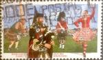 Stamps : America : Canada :  Intercambio 0,25 usd 45 cent 1997