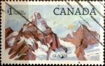 Stamps : America : Canada :  Intercambio 0,45 usd 1,00 $ 1984