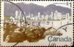Stamps : America : Canada :  Intercambio 0,50 usd 1,00 $ 1973