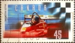 Stamps : America : Canada :  Intercambio cxrf2 0,25 usd 45 cent 1997