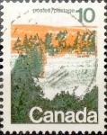 Sellos de America - Canadá -  Intercambio 0,20 usd 10 cent 1972