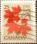 Sellos de America - Canadá -  Intercambio 0,20 usd 25 cent 1977