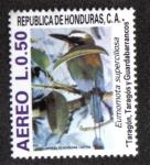 Stamps Honduras -  Aves