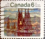Stamps : America : Canada :  6 cent 1970