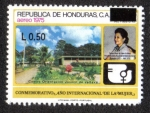 Sellos de America - Honduras -  Conmemorativo Año Internacional de La Mujer