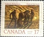 Stamps Canada -  Intercambio crxf 0,20 usd 17 cent 1979