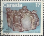 Stamps : America : Canada :  17 cent 1979