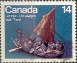 sello : America : Canadá : Intercambio crf 0,20 usd 14 cent 1978