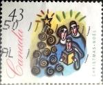 Sellos de America - Canadá -  Intercambio 0,20 usd 43 cent 1994