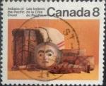 sello : America : Canadá : Intercambio nf4b 0,20 usd 8 cent 1974
