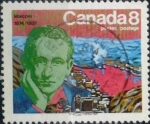 Stamps Canada -  Intercambio 0,20 usd 8 cent 1974