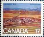 sello : America : Canadá : Intercambio crf 0,20 usd 17 cent 1980