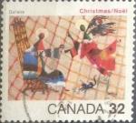 Stamps : America : Canada :  Intercambio 0,20 usd 32 cent 1984