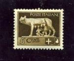 Sellos de Europa - Italia -  Serie Imperial. Loba amamantando a Romulo y Remo