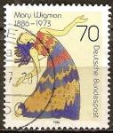 Sellos de Europa - Alemania -  Centenario del nacimiento de Mary Wigman (bailarina).