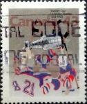 Stamps : America : Canada :  Intercambio 0,25 usd 43 cent 1993