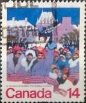 Stamps : America : Canada :  Intercambio 0,20 usd 14 cent 1979
