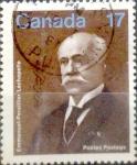 Sellos de America - Canadá -  Intercambio 0,20 usd 17  cent 1980