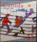 Sellos de America - Canadá -  Intercambio 0,25 usd 45 cent 1996