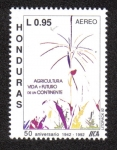 Sellos del Mundo : America : Honduras : 50 Aniversario IICA