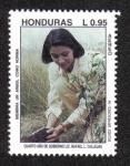 Sellos del Mundo : America : Honduras : Cuarto Año de Gobierno Lic. Rafael Leonardo Callejas