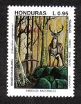 Sellos del Mundo : America : Honduras : Símbolos Nacionales