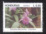 Stamps Honduras -  Orquidea