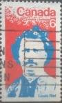 sello : America : Canadá : Intercambio 0,20 usd 6 cent 1970