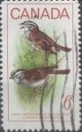 Stamps : America : Canada :  Intercambio jlm 0,20 usd 6 cent 1969