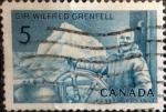 Sellos del Mundo : America : Canadá : Intercambio crxf 0,20 usd 5 cent 1965