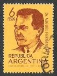 Sellos del Mundo : America : Argentina : DOCTOR MIGUEL FERNANDEZ