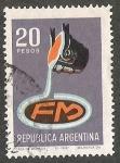 Stamps : America : Argentina :  ARGENTINA FM