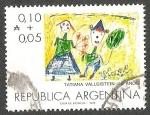 Stamps : America : Argentina :  ILUSTRACION TATIANA VALLEISTEIN