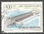 Stamps : America : Argentina :  CENTRAL HIDROELECTRICA SALTO GRANDE