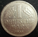 monedas del Mundo : Europa : Alemania :  1955 (Reverso)