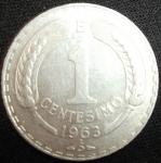 monedas de America - Chile -  1963 (Reverso)