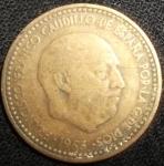 monedas de Europa - España -  1953 (Anverso)