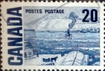 Sellos de America - Canadá -  Intercambio 0,20 usd 20 cent 1967