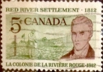 Sellos de America - Canadá -  Intercambio 0,20 usd 5 cent 1962