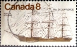 Stamps Canada -  Intercambio cxrf2 0,30 usd 8 cent 1975