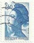 Stamps France -  SERIE LIBERTÉ DE GANDON. VALOR FACIAL 2.60 FF. YVERT FR 2221