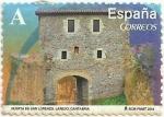 Sellos del Mundo : Europa : España : ARCOS Y PUERTAS MONUMENTALES. PUERTA DE SAN LORENZO. LAREDO. EDIFIL 4845