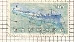 Stamps Denmark -  Petrolero