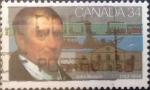 Stamps Canada -  Intercambio 0,20 usd 34 cent 1986