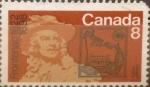 sello : America : Canadá : Intercambio crf 0,20 usd 8 cent 1972