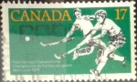 Stamps : America : Canada :  Intercambio cxrf2 0,20 usd 17 cent 1979