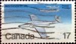 Sellos de America - Canadá -  Intercambio cxrf2 0,20 usd 17 cent 1980