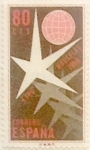 Sellos de Europa - España -  80 céntimos  1958