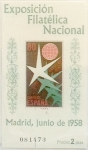 Stamps Spain -  80 céntimos  1958
