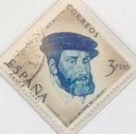 Stamps Spain -  3 pesetas 1958